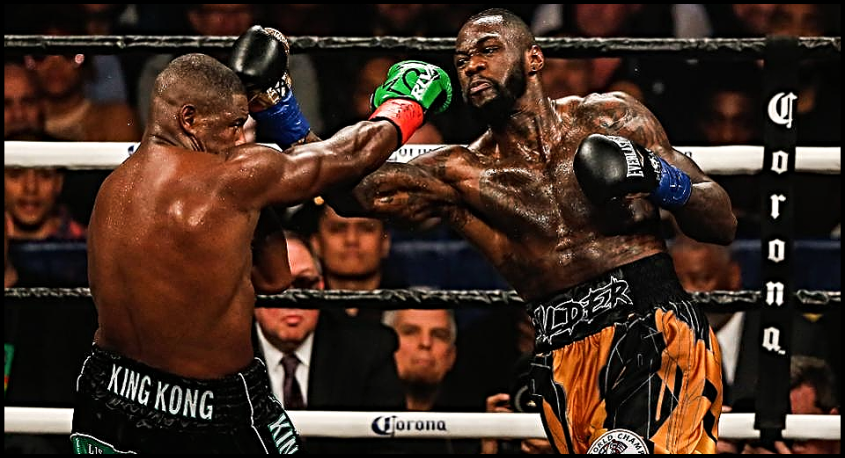 WILDER VS ORTIZ FIRST TIME