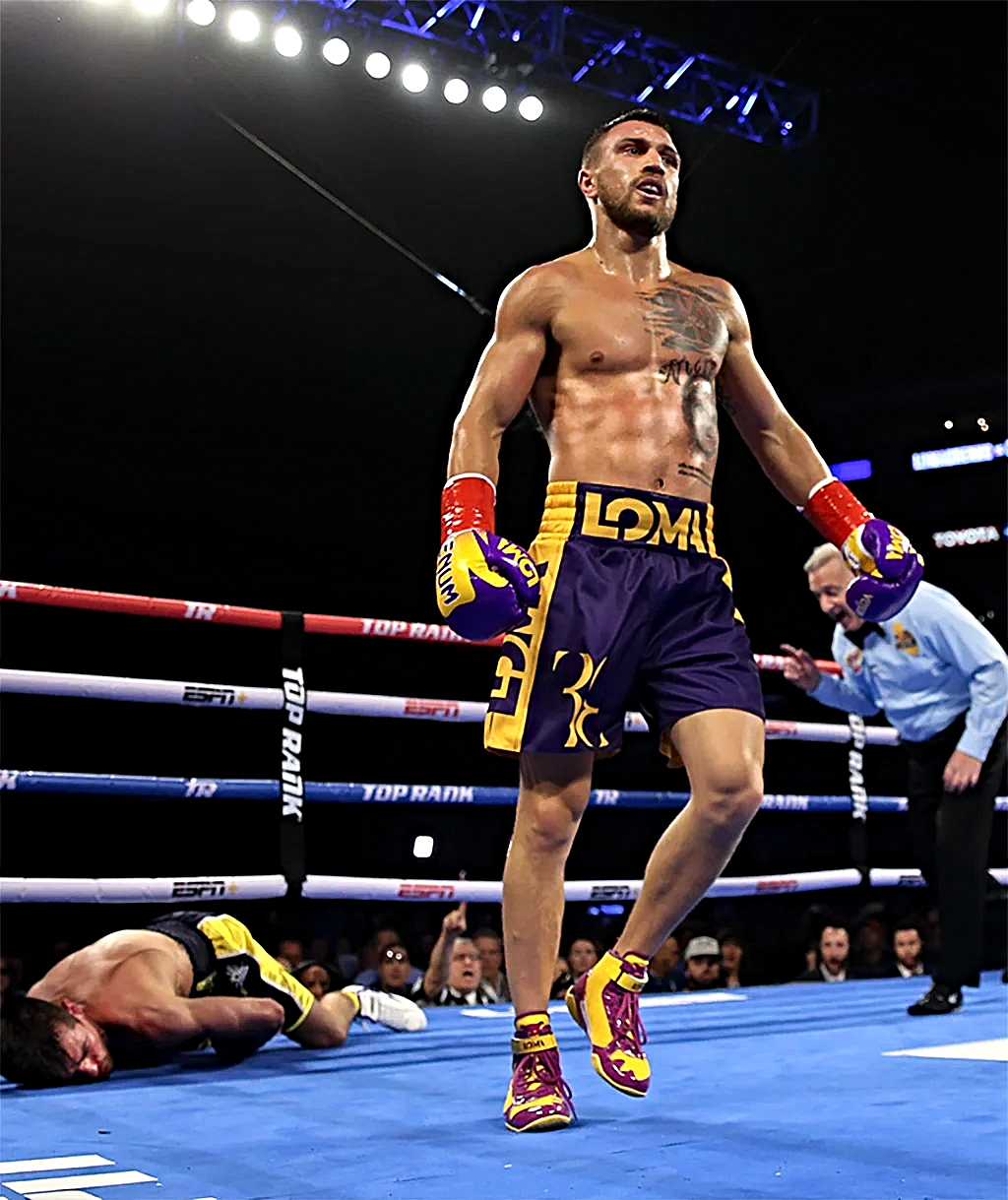 LOMACHENKO KNOCKS OUT CROLLA