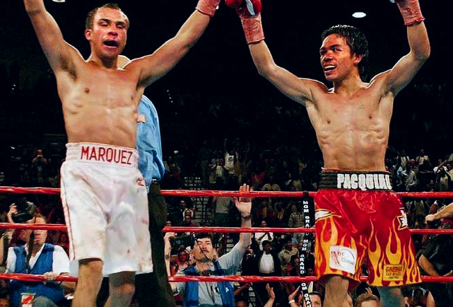 13 MARQUEZ 1ST FIGHT