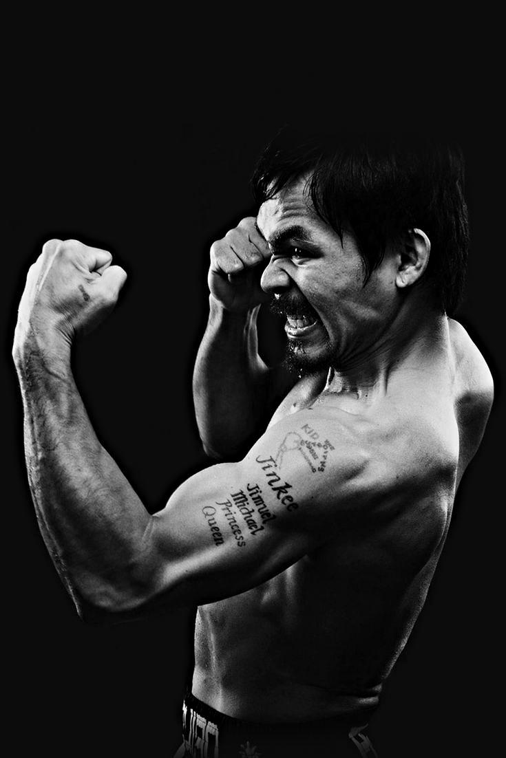 MANNY PACQUIAO FIGHTING SPIRIT