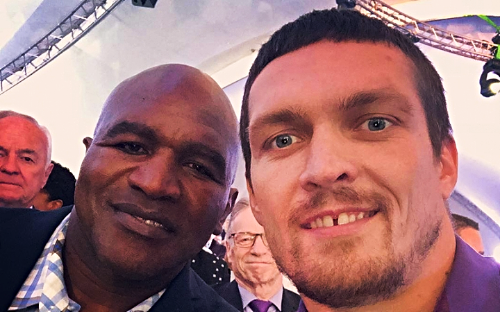 USYK AND HOLYFIELD